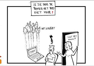 Zoeken op het internet naar woonruimte….maar waar?